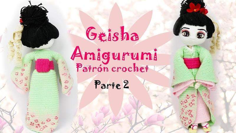 Amigurumi Geisha (parte 2/5)