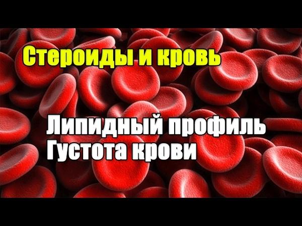 КРОВЬ И Фармакология Холестерин и Густота крови