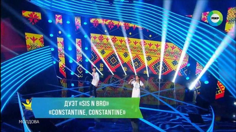 Выступление дуэта SIS N BRO (Молдова) на шоу Во Весь Голос