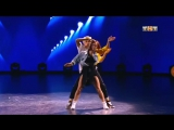 Юля Гаффарова и Ильдар Гайнутдинов (Танцы на ТНТ, 23.12.17 Хип-хоп)