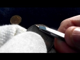 Вскрытие монеты 5 рублей