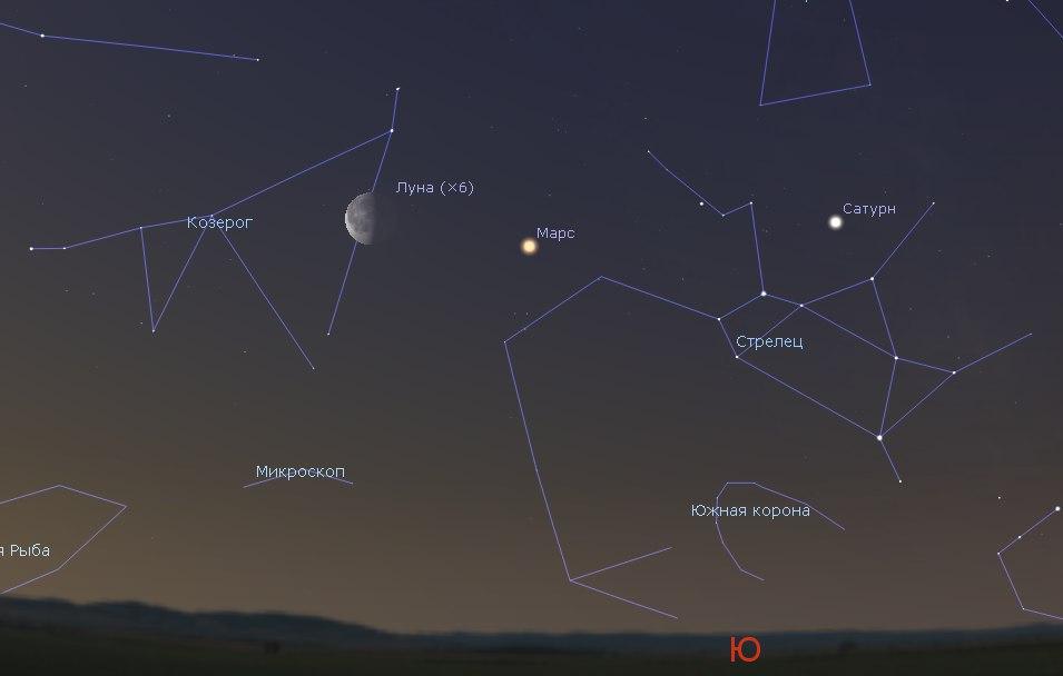 На майских праздниках можно наблюдать 4 яркие планеты!