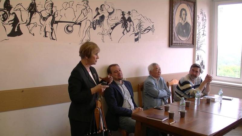 Встреча с писателем Анатолием Кимом 17 мая 2016г.