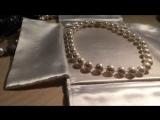 Ожерелье из органического жемчуга