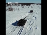 Будущие танкисты из Казани поздравили женщин с 8 марта