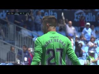 «Сельта» - «Леванте». Второй гол Макси Гомеса