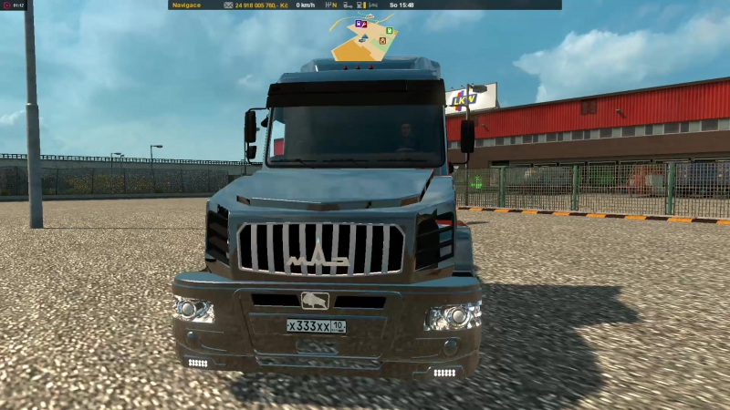 ETS2 - Great Osada MapMAZ 6440 Sleeperv.1.2831.10.2017
