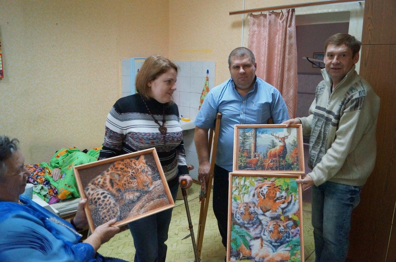 Благотворительная организация «Территория добра» Чкаловский дом-интернат