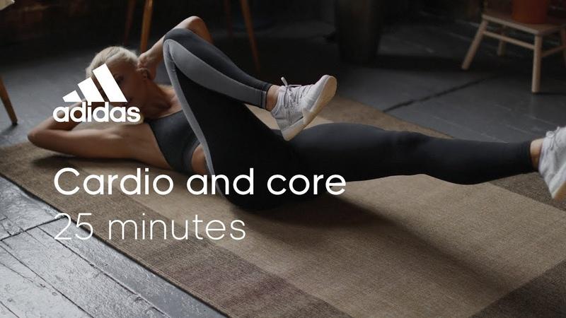 25 min Cardio Core Workout with Zanna van Dijk | adidas women workouts