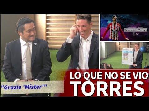 Fernando Torres llamando a su nuevo entrenador y detallazo con la afición |Diario As