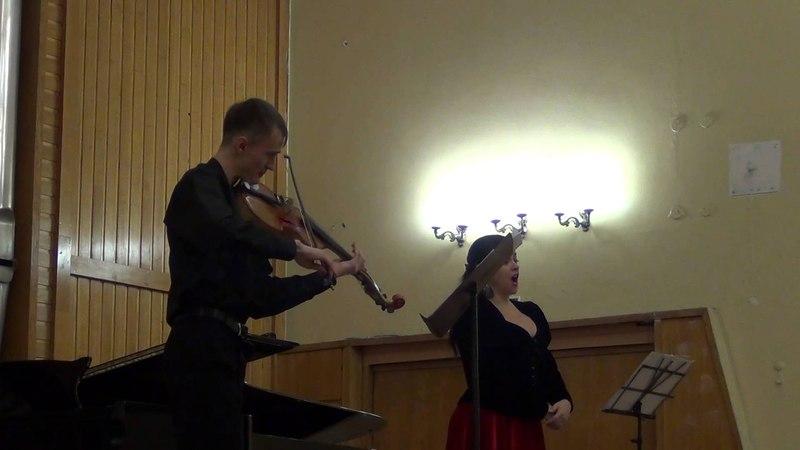 Юрий Мазченко - Счастье, когда ты рядом. Триптих для меццо-сопрано и виоль д'амур (ч. II)