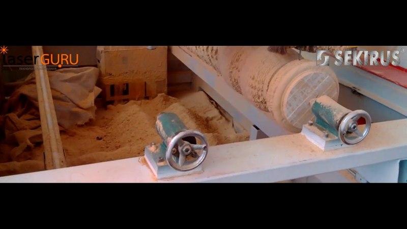 Фрезерный ЧПУ с двумя вращательными механизмами SEKIRUS P2630M-1318-03-2R для обработки цилиндров