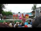 Выступление ансамбля бального танца