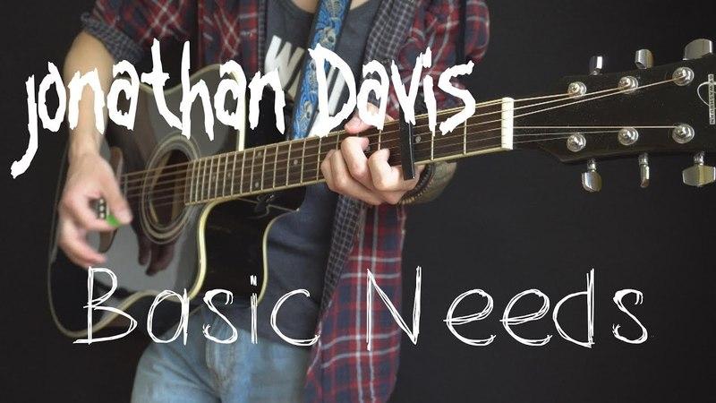 Jonathan Davis (Korn) - Basic Needs (acoustic cover by Dmitry Klimov)