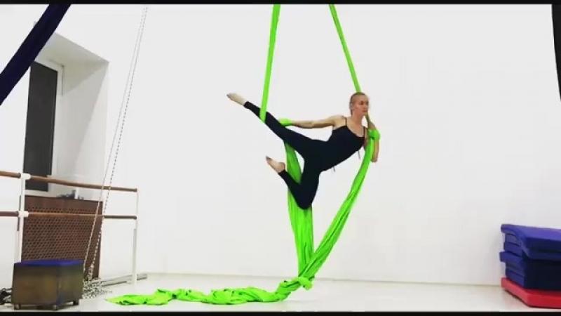 Санрайз на полотнах Pole Dance Style