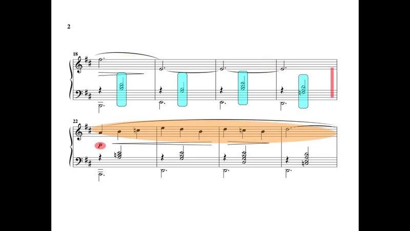 Gymnopédie dErik Satie successif simultané
