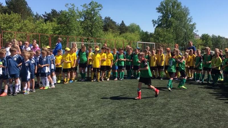 Турнир по футболу 2008 г. в г. Борисове май 2018 г