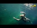 Jenny Scordamaglia - Nude UnderWater Swim with Fish (1080p)