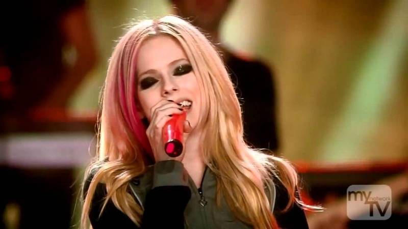 Avril Lavigne - When You're Gone (LIVE) HD