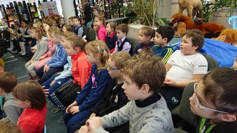 В детской библиотеке на Вятской отметили День семьи