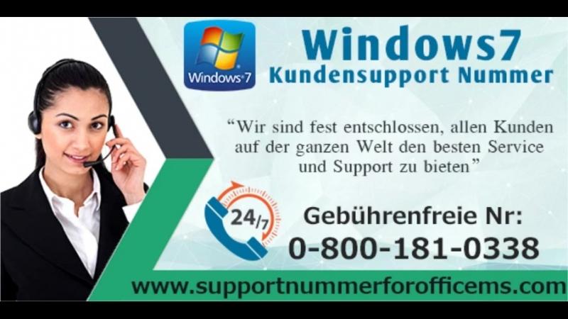 Bitte kontaktieren Sie den Windows7 Tech Support Nummer 0 800 181 0338 bei Anruf