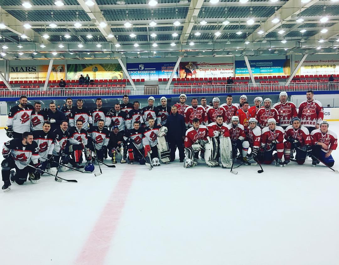 Новости хоккея НСО 2018