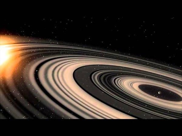 Планета с самой большой системой колец [1SWASP J1407 b]