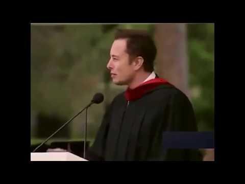 Илон Рив Маск (Elon Reeve Musk) - Выступает перед Калифорнийскими выпускниками