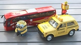 Bus Toys and Taxi Car for kids - Cars carry passengers