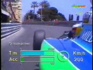 F1 1994. 04. гран-при монако, квалификация