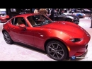 2018 Mazda MX 5 Miata Grand Touring RF - Exterior Interior Walkaround - 2018 Chicago Auto Show