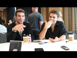 San Diego Comic-Con 2018 Interview_ Tell Me a Storys James Wolk Paul Wesley