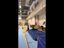 Надя Куслеева. 3 взрослый разряд. Опорный прыжок