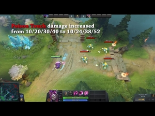 Dota 2 NEW  PATCH - Main Changes