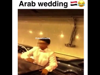 Arab wedding gone wild 😂😂😂