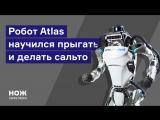 Робот Atlas научился прыгать и делать сальто
