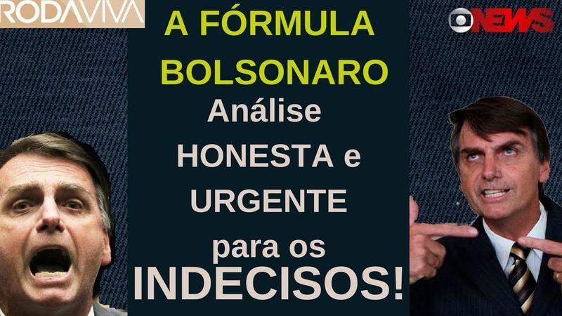 QUAL A FÓRMULA BOLSONARO PARA RESPONDER QUESTÕES? | Análise do Discurso | Roda Viva e Globo News