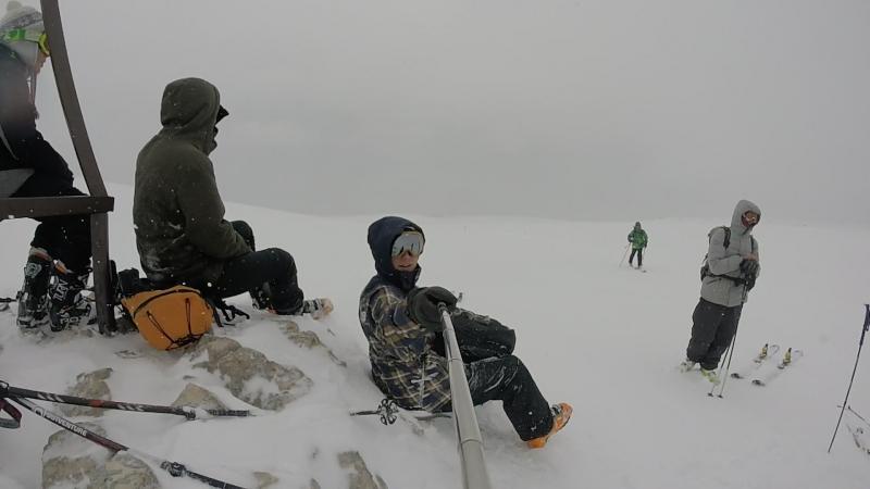 абадзешский перевал - скитур лаго-наки идём на г.Оштен 11.03.2018 г.