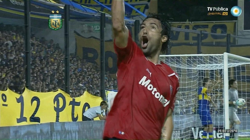 Boca 4 vs Independiente 5 - Clausura 2012 - HD FULL - Fecha 5