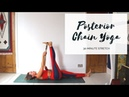 YOGA FOR THE BACK BODY | Posterior Chain Stretch | CAT MEFFAN