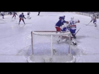 Первый гол в истории Зимней Классики КХЛ