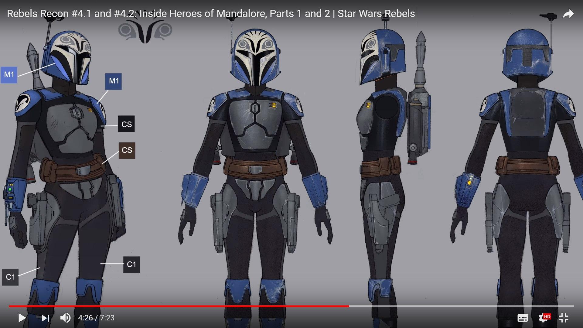 Bo Katan From Rebels S4 Build