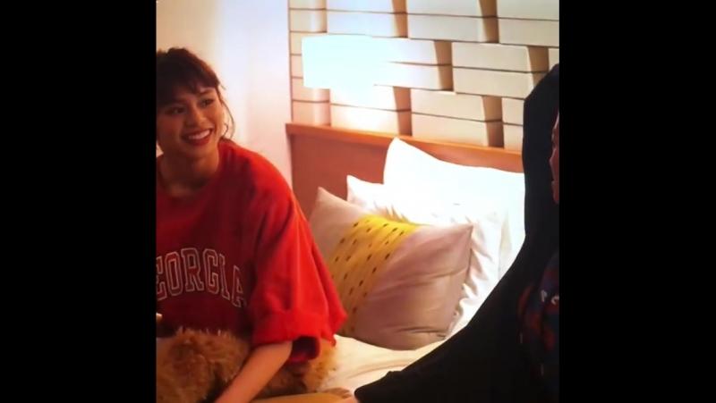 Harumi and Kaede