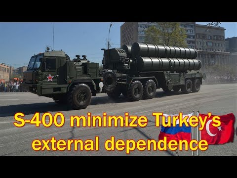 S-400 air defense systems to minimize Turkey's external dependence, minister says
