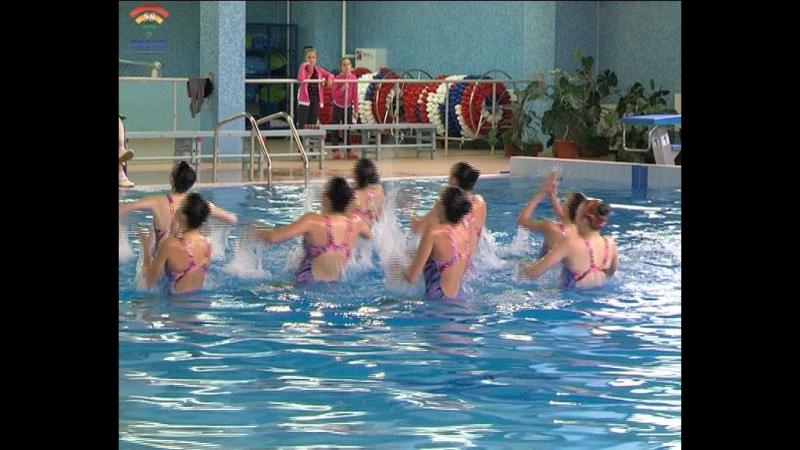 Областные соревнования по синхронному плаванию прошли в бассейне Лазурный г.Тосно