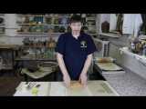 Изготовление кружки на глино-раскатном станке НИКОДИМ
