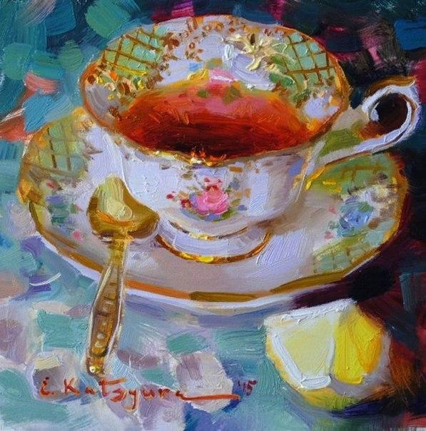 Художник Елена Кацура (Elena Katsyura) родилась, живёт и творит в городе Челябинске.