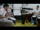 Импровизация на 2 джембе ЧАСТИ РИТМА