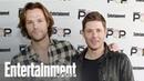 Supernatural's Jensen Ackles Jared Padalecki Get Sentimental PopFest Entertainment Weekly