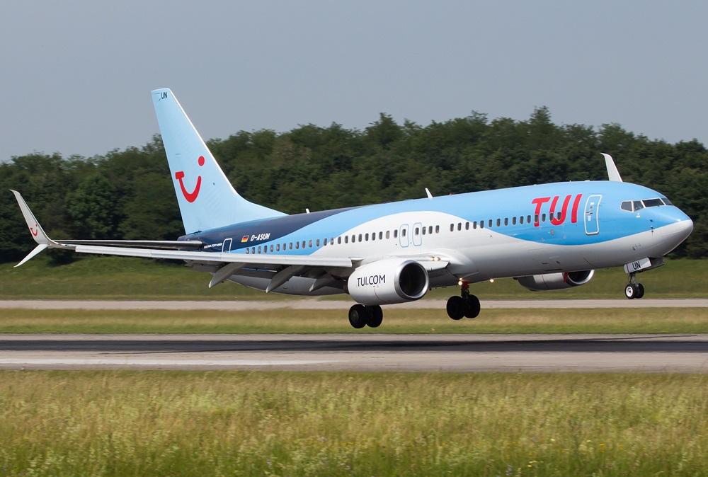 Посадка Boeing 737
